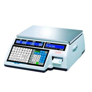 Торговые весы с печатью этикеток C5000J